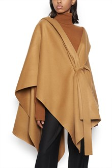 THEORY hooded poncho