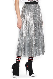MSGM P.M. pleated skirt