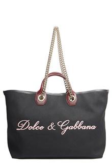 DOLCE & GABBANA logo tote