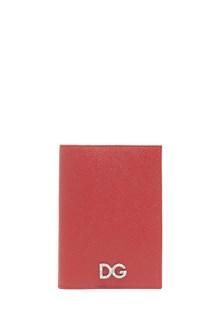 DOLCE & GABBANA logo passaport holder