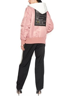 MIU MIU 'fabric descriptions' bomber jacket