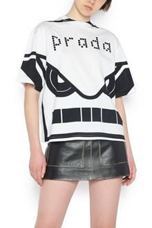 PRADA 'robot' t-shirt