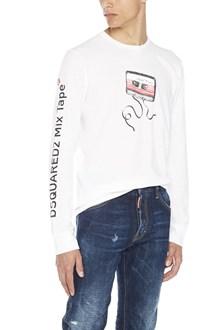 DSQUARED2 'mix tape' t-shirt