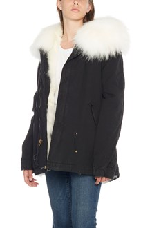 MR & MRS ITALY Fox Fur mini parka