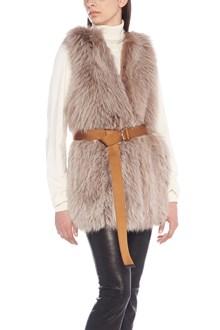 BLANCHA fur vest