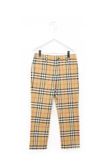 BURBERRY pantaloni check