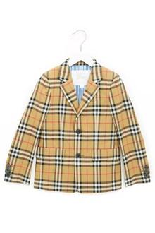 BURBERRY check jacket