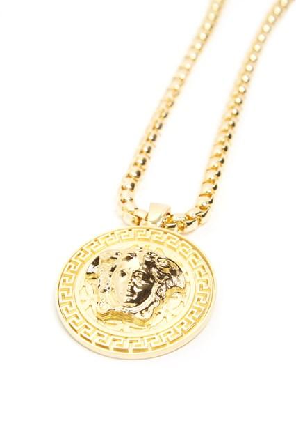 Versace medusa necklace available on julian fashion 51605 versace medusa necklace aloadofball Images