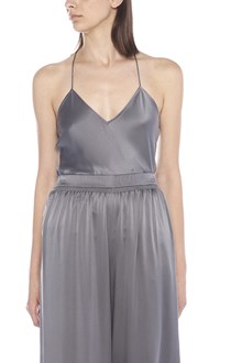 THEORY 'fraped back slip' top