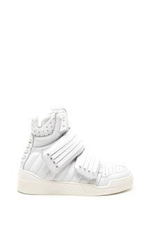 LES HOMMES strap high sneakers