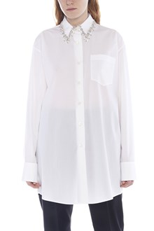 PRADA jewel neck shirt