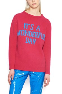 ALBERTA FERRETTI 'it's a wonderful day' sweater