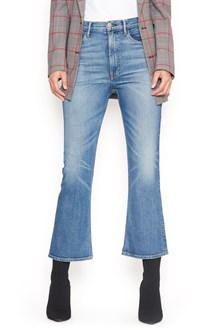 3x1 jeans 'empire crop bell'
