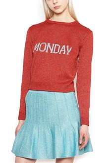 ALBERTA FERRETTI 'rainbow week' sweater