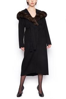 GIULIANA TESO sable inserts coat