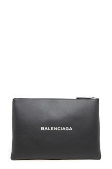 BALENCIAGA logo clutch