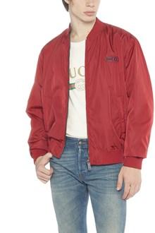 GUCCI reversible bomber jacket