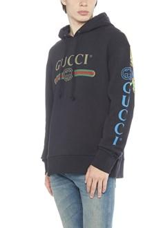 GUCCI 'gucci fake' hoodie