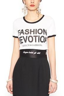 DOLCE & GABBANA 'fashion devotion' t-shirt
