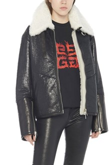 GIVENCHY oversize shearling