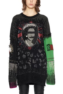 LONELY CROWD 'punk cardigan' dress