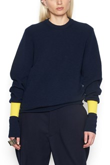 MAISON MARGIELA contrasting cuffs sweater