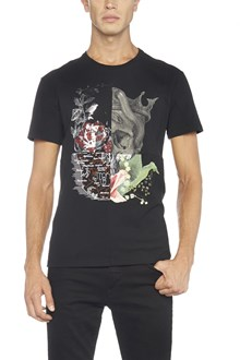 ALEXANDER MCQUEEN t-shirt multi stampa