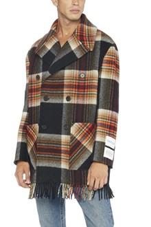 CALVIN KLEIN 205 W39 NYC collab. pendleton coat