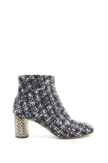 CASADEI tweed ankle boots
