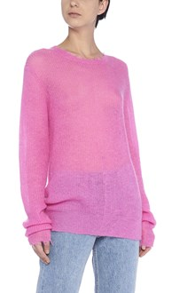 HELMUT LANG 'feather weight mohair crew' sweater