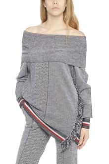 STELLA MCCARTNEY off-shoulder sweater