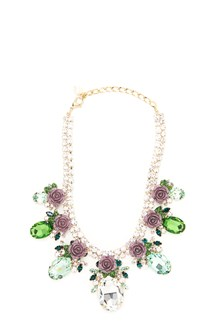 DOLCE & GABBANA crystals necklace