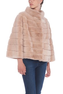 YVES SALOMON mink fur