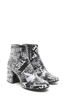 MM6 BY MAISON MARGIELA 'fragile' ankle boots