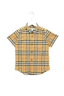 BURBERRY check shirt