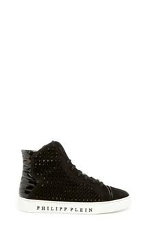 PHILIPP PLEIN 'dark brown' sneakers