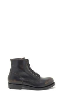 BUTTERO 'bone' combact boots