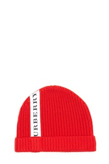 BURBERRY berretto logo