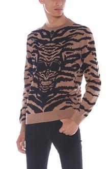 ALEXANDER MCQUEEN maglione 'animalier skull'