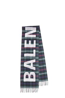 BALENCIAGA sciarpa logo