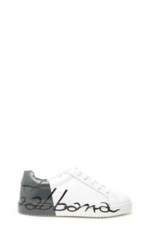 DOLCE & GABBANA bicolor sneakers