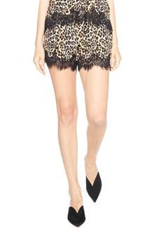 GOLD HAWK animalier shorts