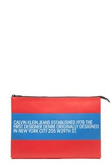 Calvin Klein Jeans Est. 1978 logo clutch