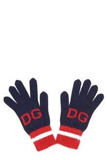 DOLCE & GABBANA guanti logo