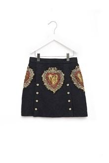 DOLCE & GABBANA embroidered skirt