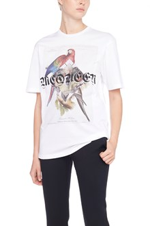 ALEXANDER MCQUEEN t-shirt 'jungle collage'