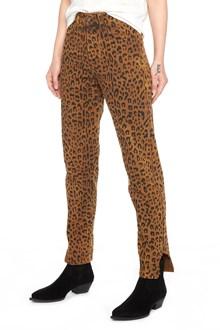 SAINT LAURENT animalier jeans