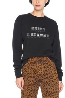 SAINT LAURENT seventies logo sweatshirt