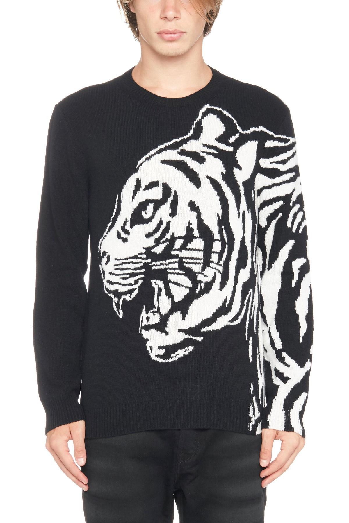 Maglia Maglia Valentino Con Intarsio Intarsio Con Con Tigre Maglia Intarsio Valentino Tigre Tigre rr58UqOcd