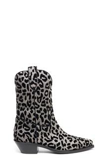 DOLCE & GABBANA animalier texan boots